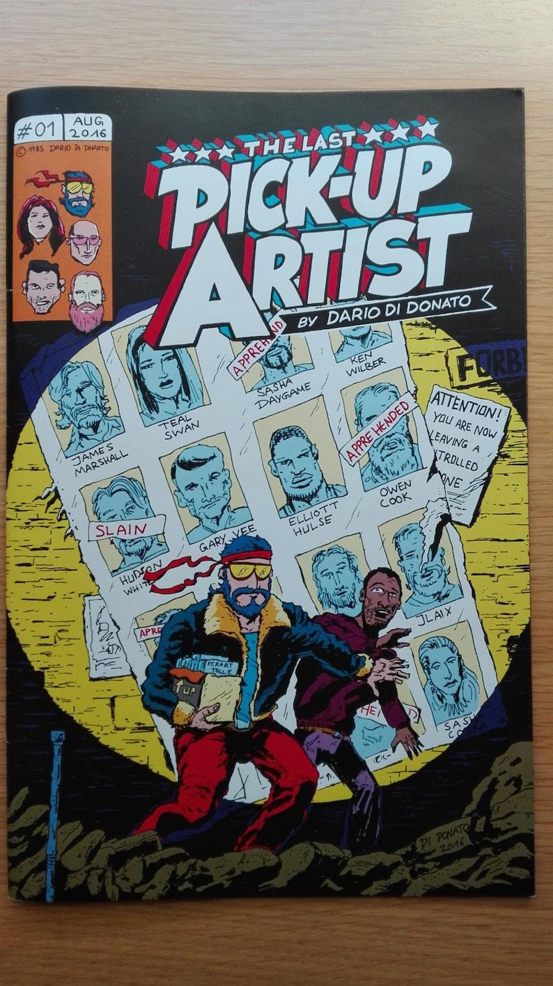 The Last Pick Up Artist  Underground Comic 2016 image 0