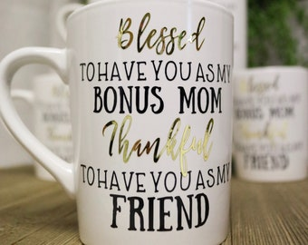 Coffee Mug Mother In Law Gift Christmas Gift For Mom Adopted Mom Mothers Day Present Gift Mother In Law Gift Present For Mother In Law