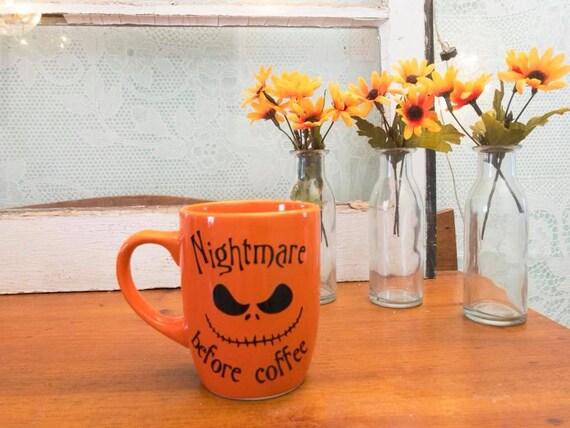 Nightmare Before Christmas Coffee Mug.Nightmare Before Christmas Coffee Mug Nightmare Before Coffee Halloween Coffee Mug Coffee Cup Halloween Gift Halloween Jack Skellington