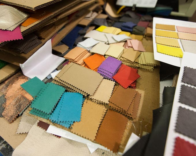 Request Swatches: TanneryNYC will gladly mail swatches of any of our listed products for your review.