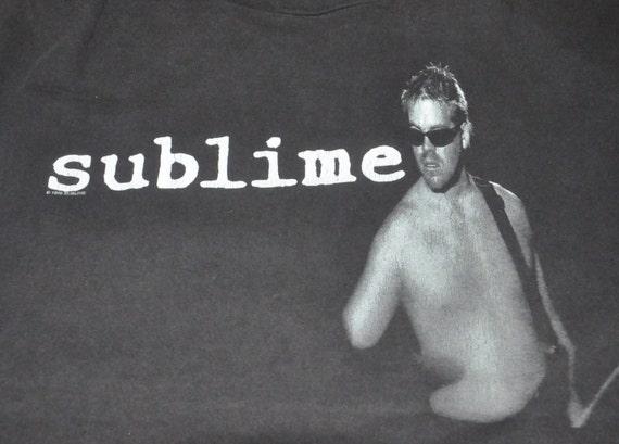 Band Promo Shirt Punk SUBLIME Singles Ska T Metal Concert Album Vintage Rare Tour 90s OqPw1X6