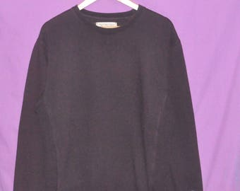 Vintage 90s Champion Small Embroidery Logo Sweatshirt Sweater Crewneck Brown Medium Size