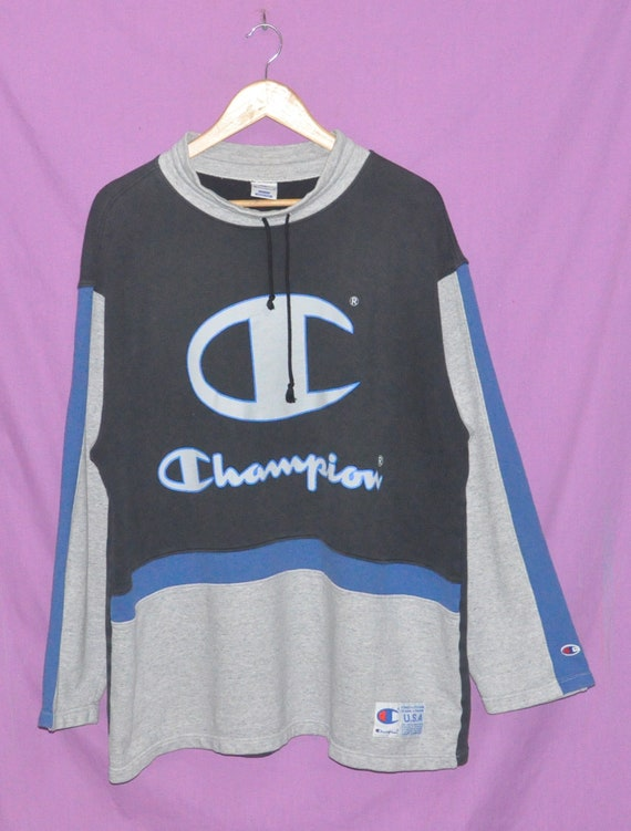 Vintage 90s Champion Big Logo Sweatshirt Sweater M