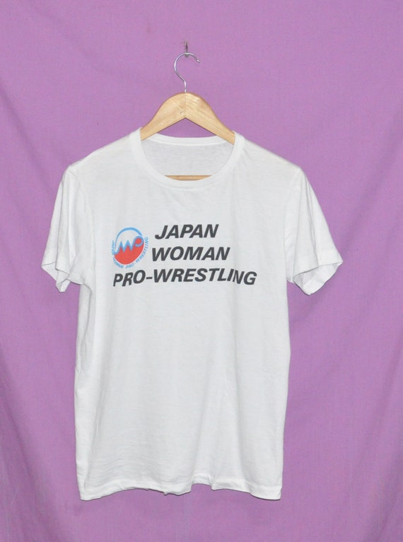 Shirt Wrestler Woman Size Pro Wrestling Vintage Japan T Japanese Small z1q7a