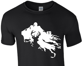 9e5f5b6a Harry potter Dementor & Stag T-Shirt, Choice of 12 T-shirt Colours, Ref 1135