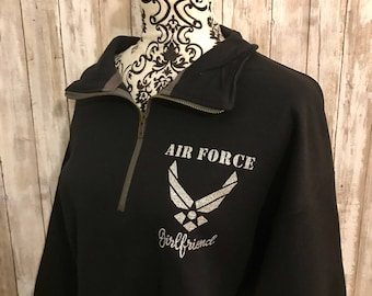 the latest 26a7e 775fc Air force sweatshirt   Etsy
