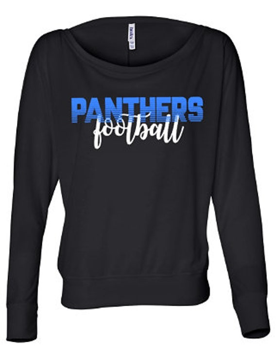 women's carolina panthers long sleeve shirt