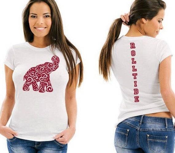 Alabama Football Tee ~ Crimson Tide Tee ~ ROLLTIDE Shirt