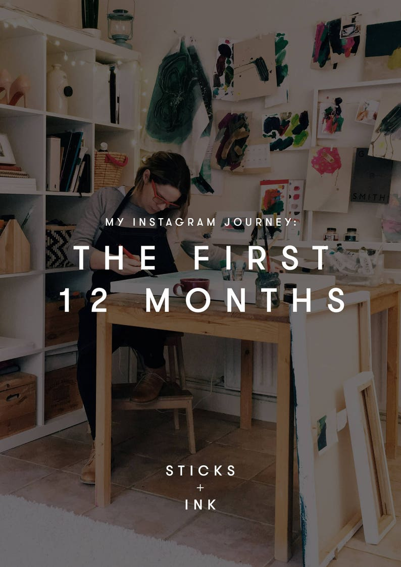 My Instagram Journey: The first 12 months eBook by Sticks  image 0