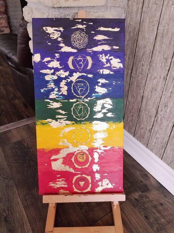 """chakra banner 6/""""x24/"""" indoor//outdoor"""