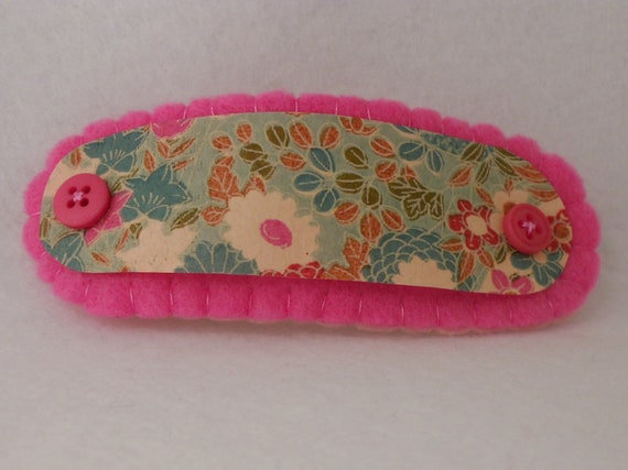 Gifts for Her, Hair Barrette, Hair Stick, Leather