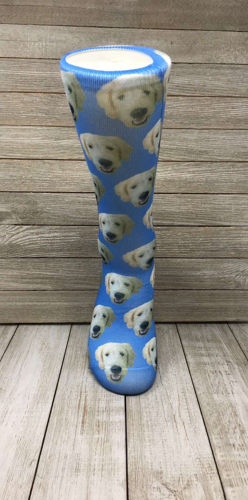 edf0aad3038a Custom Dog Photo Socks Personalized Dog Socks Custom Dog