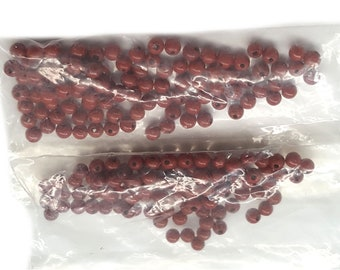Drilled 50Pieces FREE SHIPPING Frosted Crystal Bean Shaped Beads 15x10mm