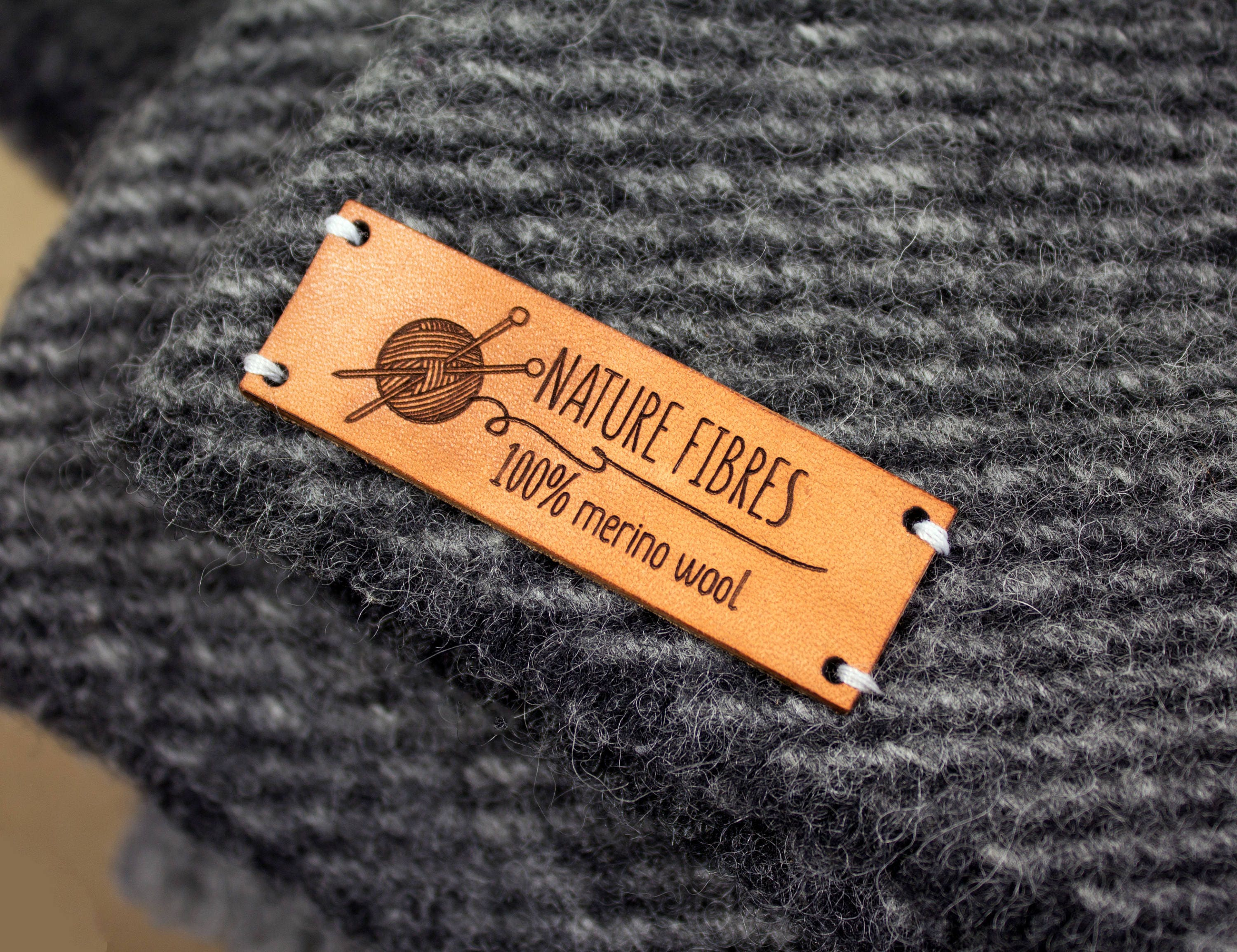 This is a photo of Decisive Personalised Knitting Labels Uk