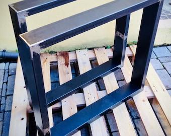 Tavolo Industriale Usato : Gambe tavolo ferro etsy