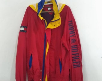 58349a53f04f Vintage 90 s Tommy Hilfiger big spellout