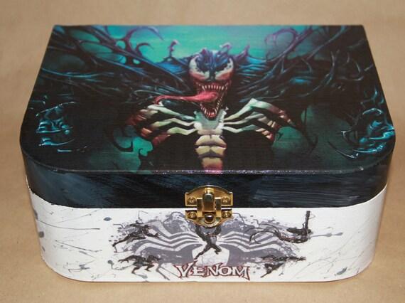 Marvel Venom Wooden Keepsake Box