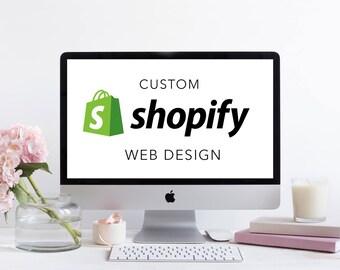 E-Commerce Shopify Custom Web Design