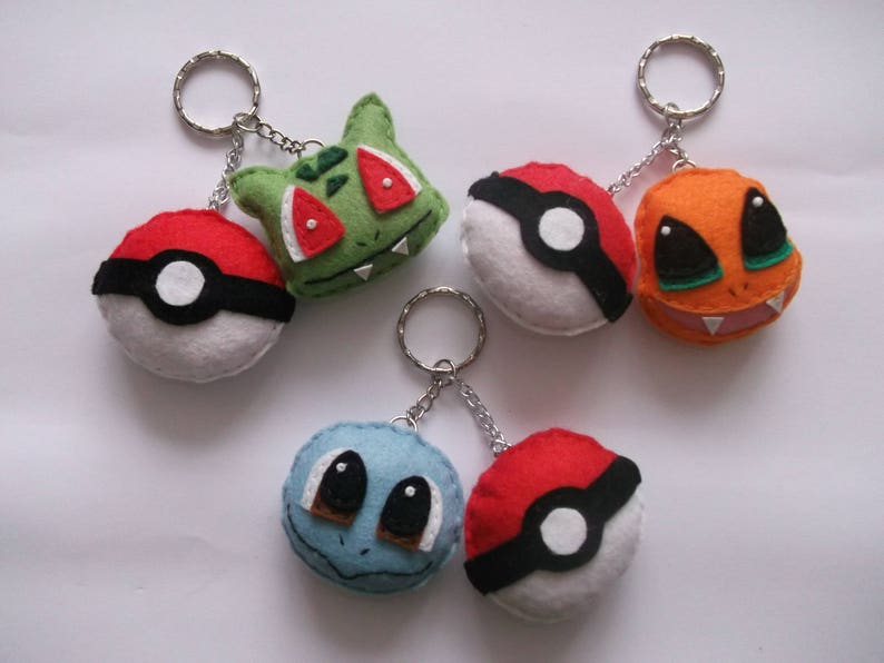 Pokemon Key Ring Accessory NEW Charmander Keychain