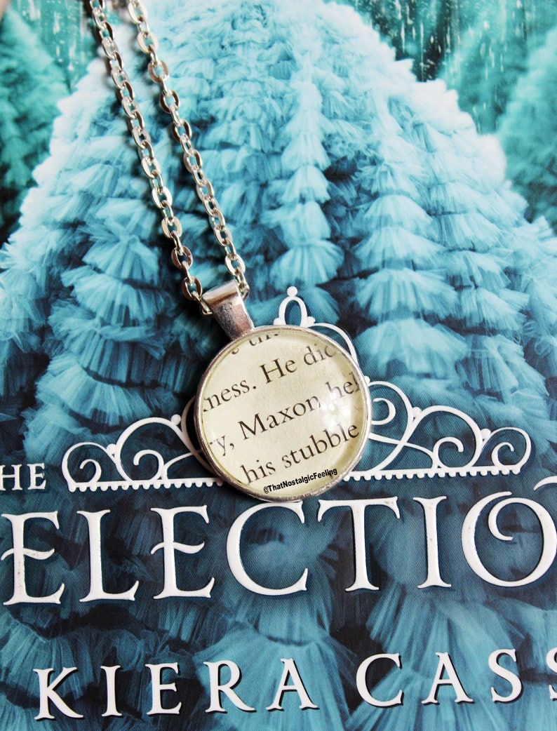 Book Page Jewelry  Maxon Schreave  The Selection  Book image 0