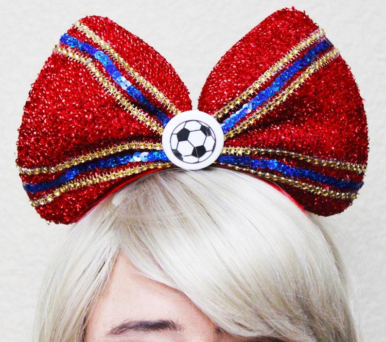 3492b87a18b FC Barcelona inspired Headband Bow • Mens Soccer • Fan Hat • Lionel Messi •  Neymar • Suárez • Iniesta • Barcelona shirt • Birthday • Team
