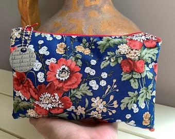 Floral Essential Oil Bag, Travel Bag, Essential Oil Case, Roller Balls, Essential Oil Storage, Sleeves, Padded, Essential Oil Bottle Bag
