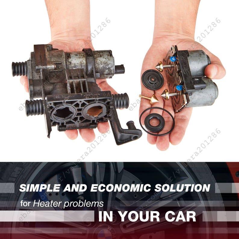 Heater Control Valve Repair Kit for BMW E36, E46, E60, E61, E63, E53, E39,  E83