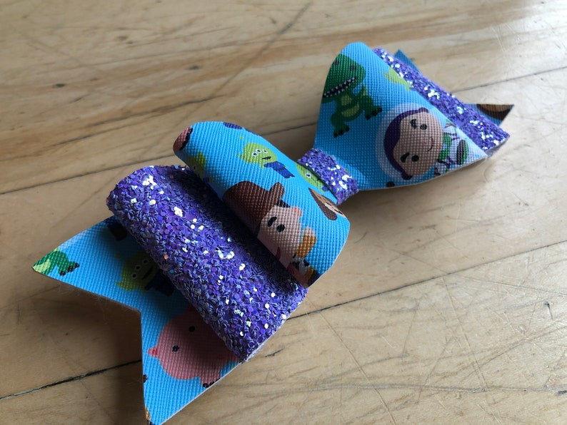 Toy Story Faux leather bow
