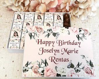 Happy Birthday Personalized Chocolates