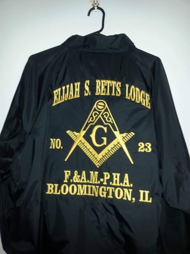 Masonic Basic Crossing Jacket