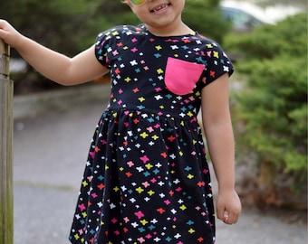 Girls summer dress - girls summer outfit - summer dress for girls - summer dress - girls summer clothing - girls dress - toddler dress