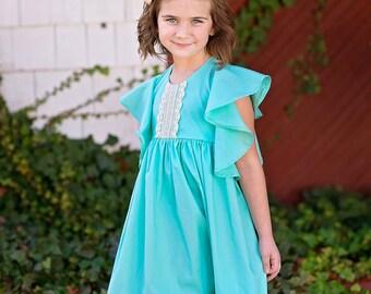 Girls spring dress - toddler girls spring outfit - girls spring outfit - girls pastel dress - toddler dress - dress for girls - pastel dress