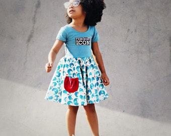 Girls Feminist dress - girls feminist outfit - feminist dress for girls - feminism dress - girls feminist clothing