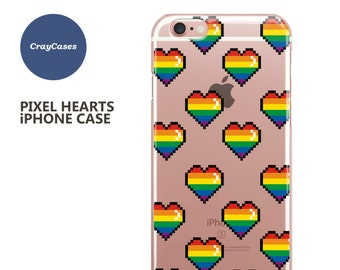 Pixel Hearts iPhone 6s Case Pixel Hearts iPhone 6s Plus Case Pixel Hearts iPhone 7 Case Pixel Hearts iPhone 6 Plus Case (Shipped From UK)