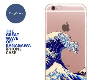 Kanagawa iPhone Case, Kanagawa iphone 6s case, iphone 8 case Kanagawa iPhone 6s Plus Case Kanagawa iPhone 7 Case (Shipped From UK)