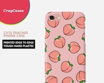 peaches iphone 8 plus case