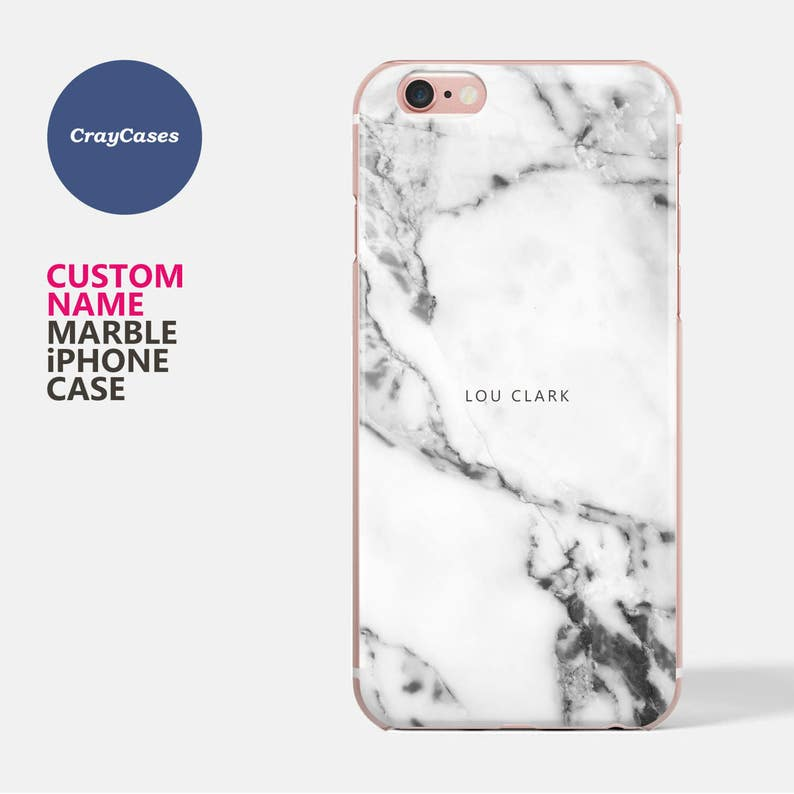 huge discount cfe3e dbfd4 personalized iPhone 7 Plus Case, personalised marble iPhone 7 case, marble  iPhone 6 case, 6s, 6s Plus, 7 Plus, custom cover (Ships From UK)