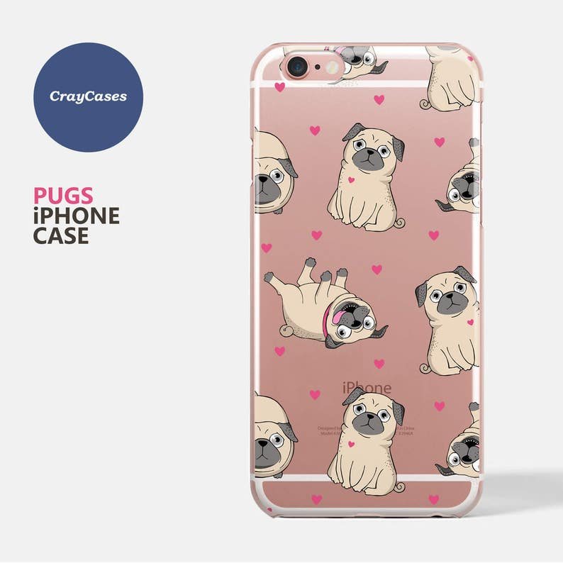 new styles b0fcc 48066 pugs iphone case, pugs iphone 7 case, pugs iphone 6 case, pugs iphone 6s  case, Also Available for iPhone 6/7 Plus (Shipped From UK)