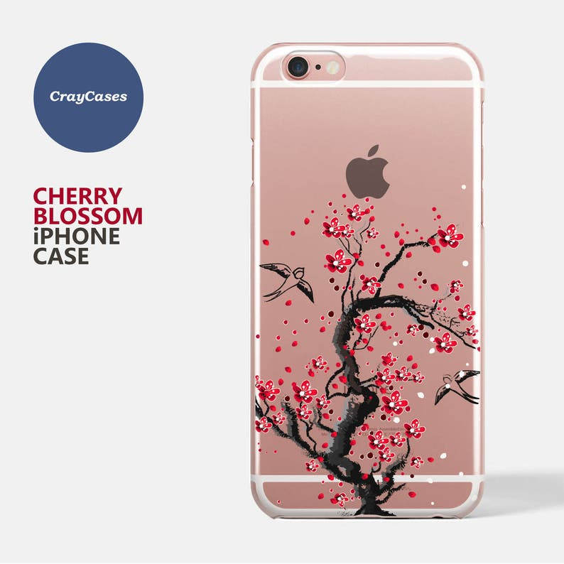 check out e47f1 5cd98 cherry blossom iPhone 6 case, cherry blossom iPhone 7 Case, Floral iPhone 7  plus Case, Floral iPhone 6 and 7 Plus Case (Shipped From UK)