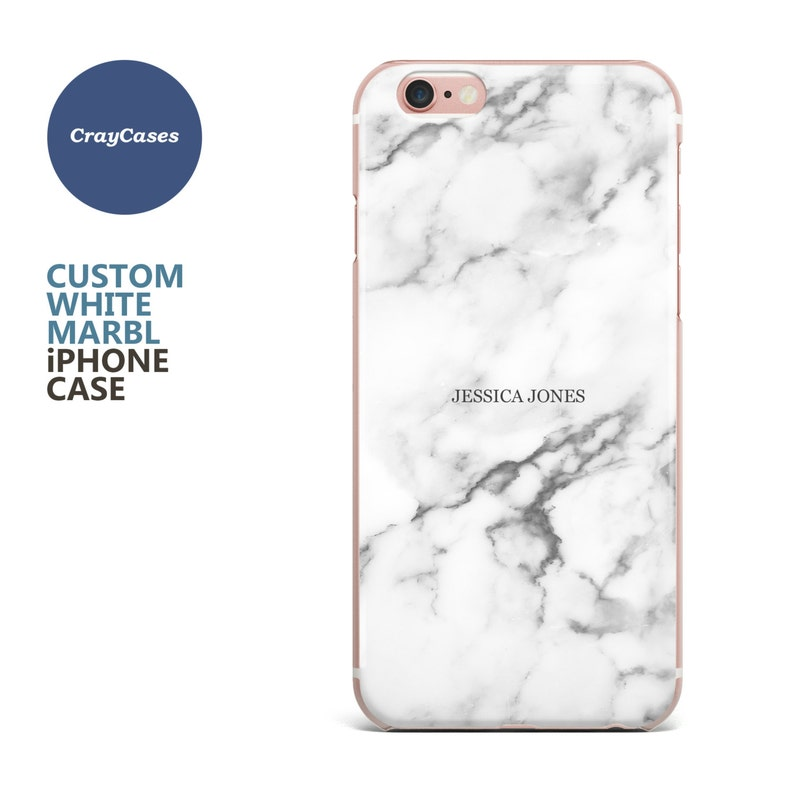 pretty nice 6360f eeb7d custom name marble phone case, personalised marble iPhone 6s case, 6 Plus,  6, 6s Plus, iPhone 7 case, cell phone cover (Shipped From UK)