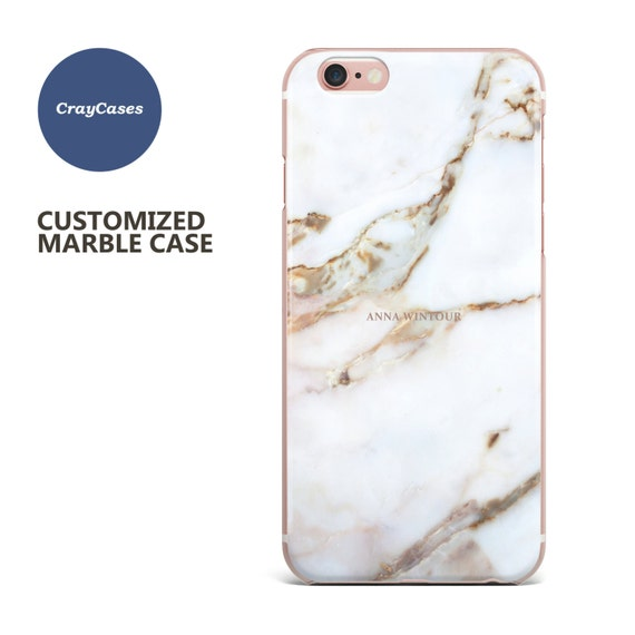 personalized marble phone case iphone 7 personalised gift etsy
