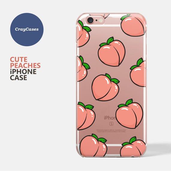 coque iphone 7 plus peach