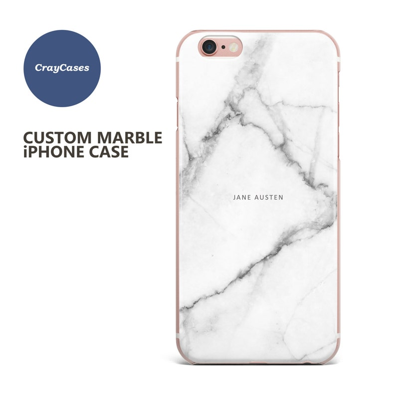 marble name iphone 6s case