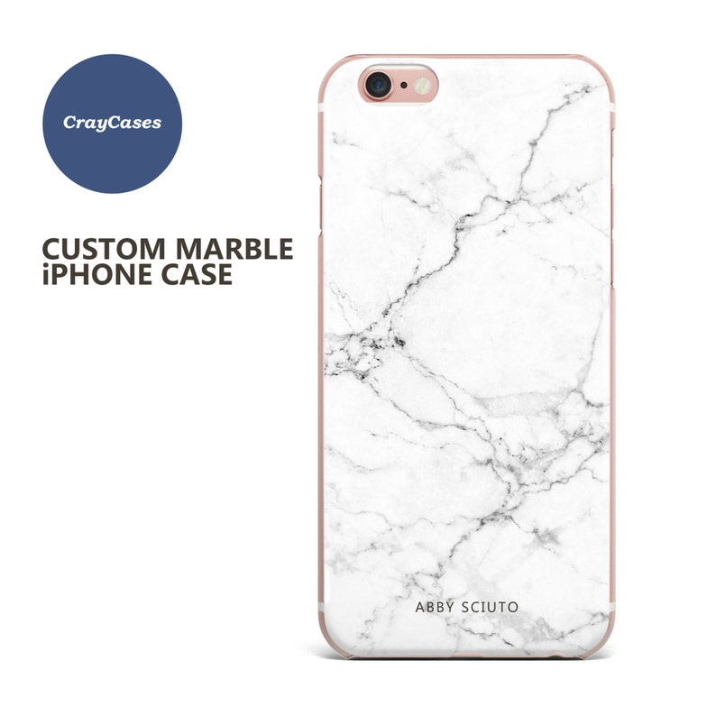 pretty nice f48c1 0f8e3 Custom Name Marble Phone case, personalised marble iphone 6s case, iphone 8  case, 6 Plus, 7, 6s Plus, cell phone cover (Shipped From UK)