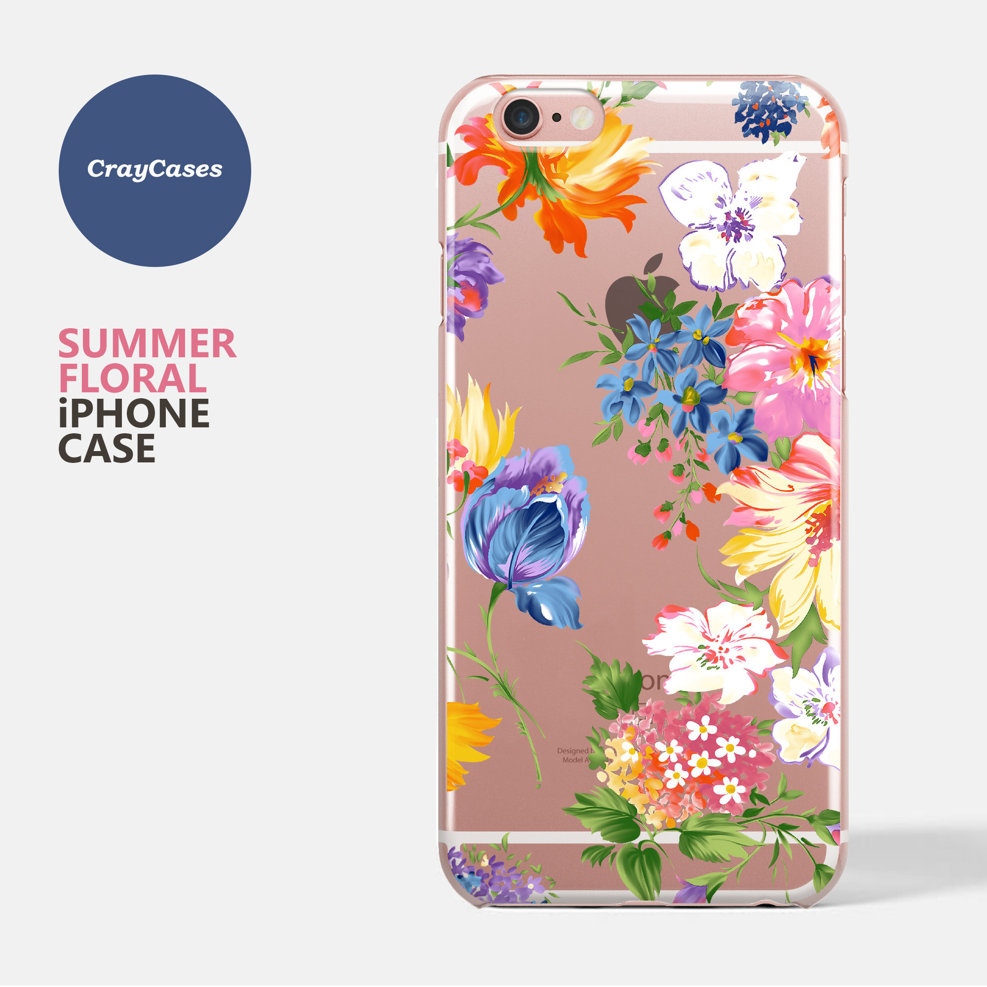 Floral Iphone 6s Case Iphone 8 Case Floral Iphone 6s Plus Etsy