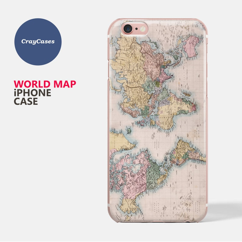 map case for iphone 7
