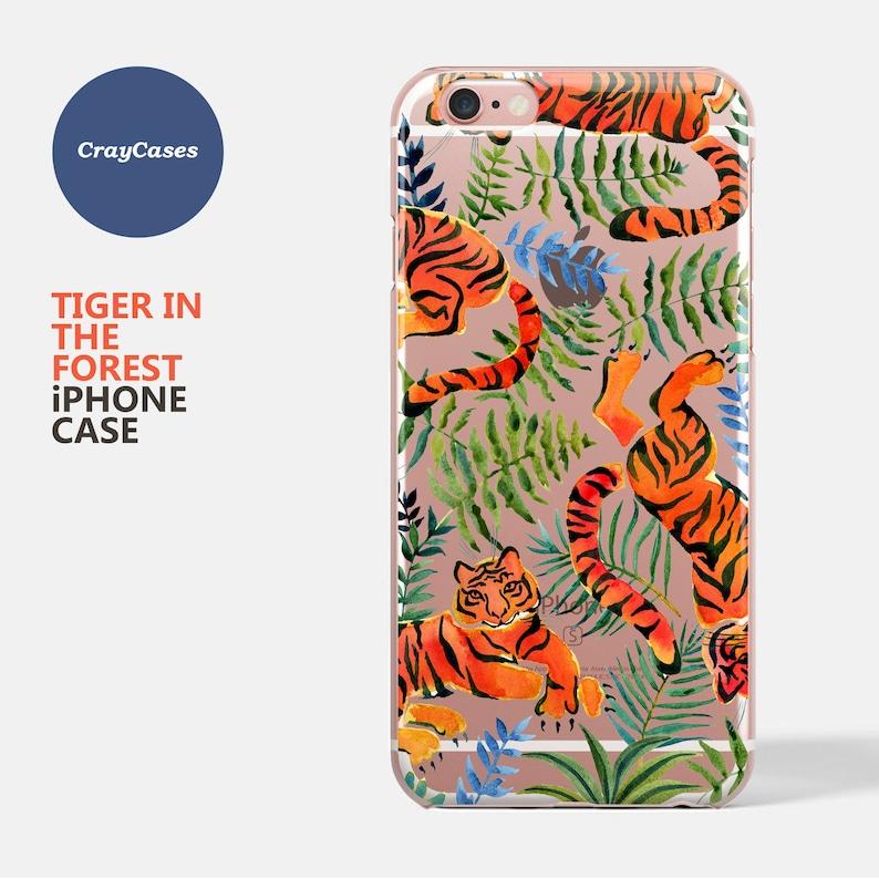 e4516a7e666 IPhone 7 Case Cute Tiger iphone 6s case iphone 8 case
