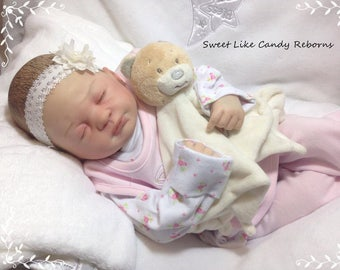 Custom made to order Reborn doll Lucy by Marissa May girl or boy reborn baby