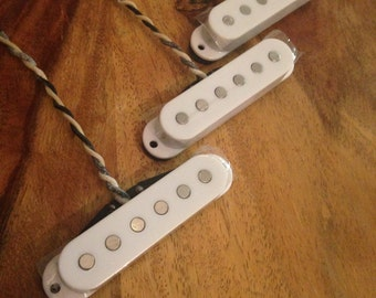Handwound Pickup Set for Strat Vintage 50's-60's spec