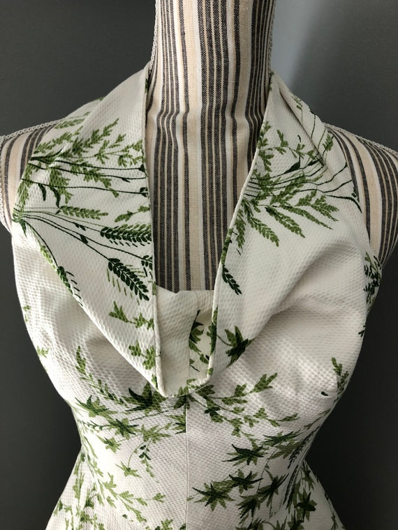 Rare VIntage Addie Masters 1950s halter dress